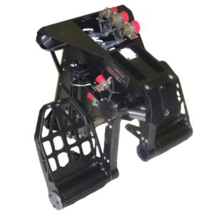 Yaw and Rudder Brake Pedal Assemblies
