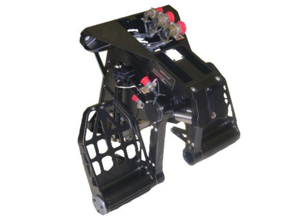 Yaw and Rudder Brake Pedal Assemblies
