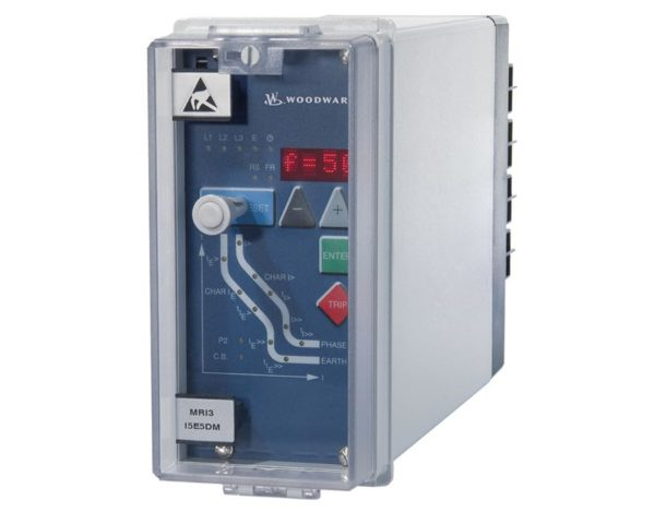 "High Tech Line 19"" withdrawable modular protection relays"