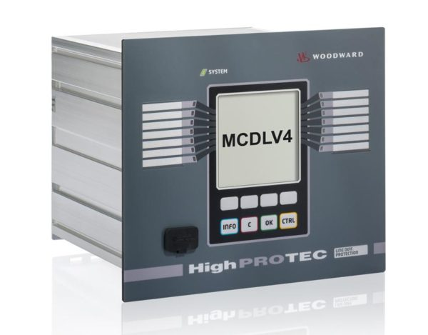 MCDLV4 Line Differential Protection 1A/5A 800V