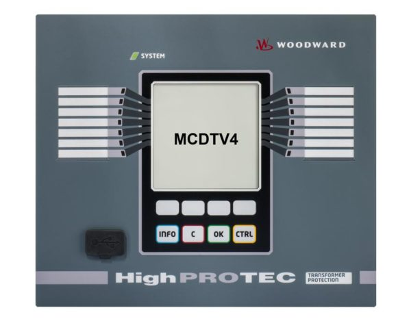 MCDTV4 Transformer Differential Protection 1A/5A 800V