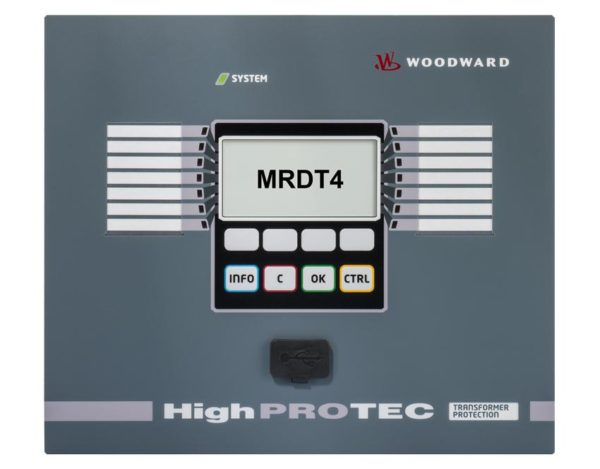 MRDT4 Transformer Differential Protection 1A/5A