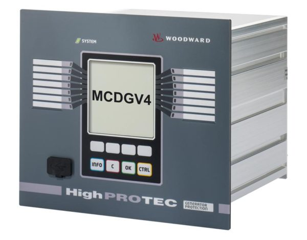 HighPROTEC MCDGV4 Generator Protection