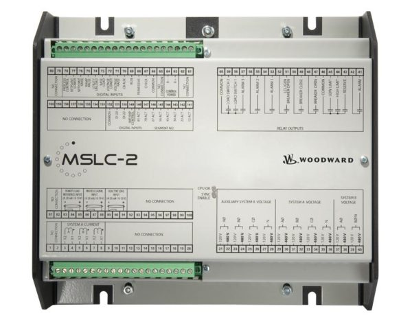 MSLC-2-5 Master Synchronizer/Load Control