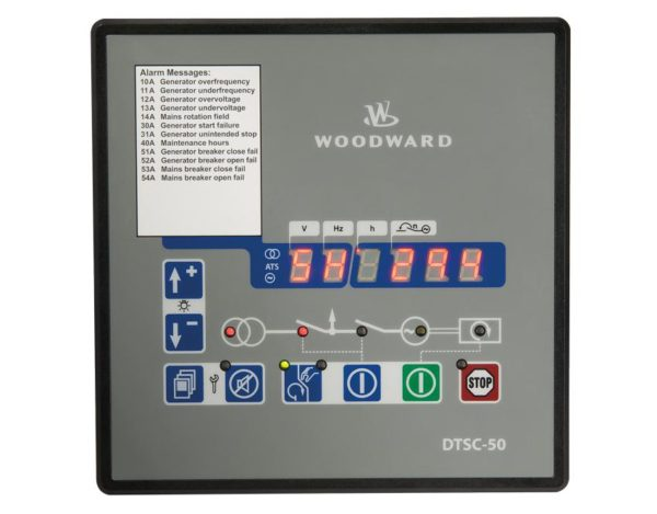 DTSC-50-50B Automatic Transfer Switch Control